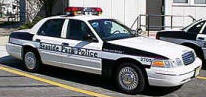 Seaside Park Police Department police car