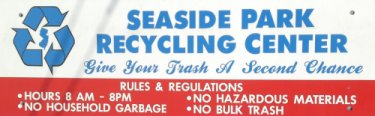 Seaside Park Recycle Center